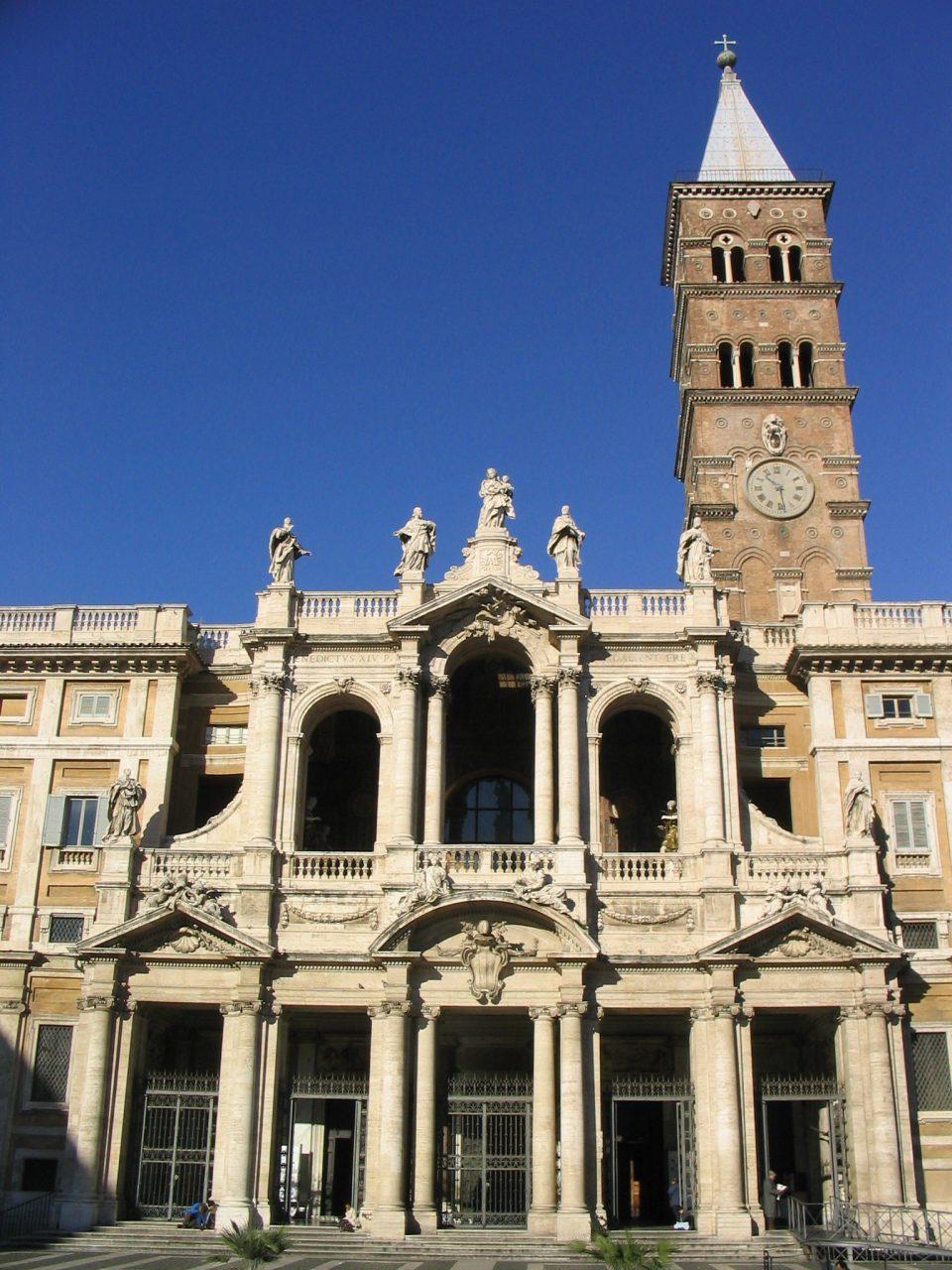 Roma, Basilica di Santa Maria Maggiore, voorgevel 1