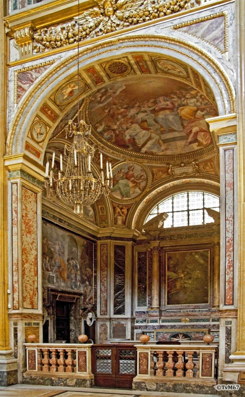 Roma, Chiesa del Gesù, 1e k li, Cap di San Francesco Borgia, Overzicht, 2011
