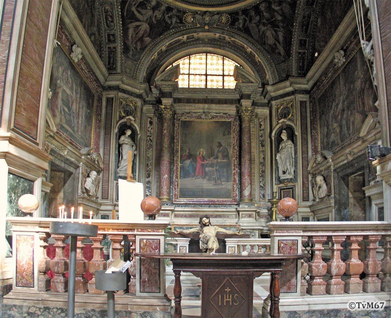 Roma, Chiesa del Gesù, 2e k li, Cap della Sacra Famiglia, Overzicht, 2006