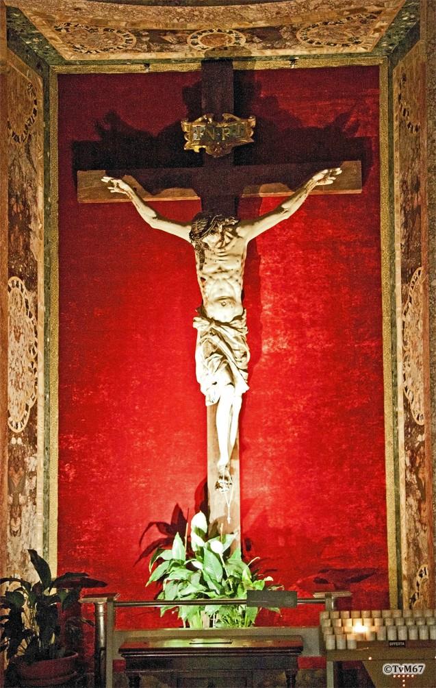 Cappella del Crocifisso, Crocifisso