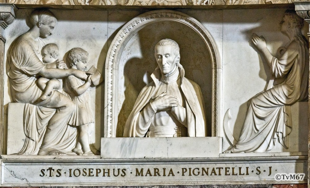 Roma, Chiesa del Gesù, Apsis, Solà, Portret van Pignatelli, 2011