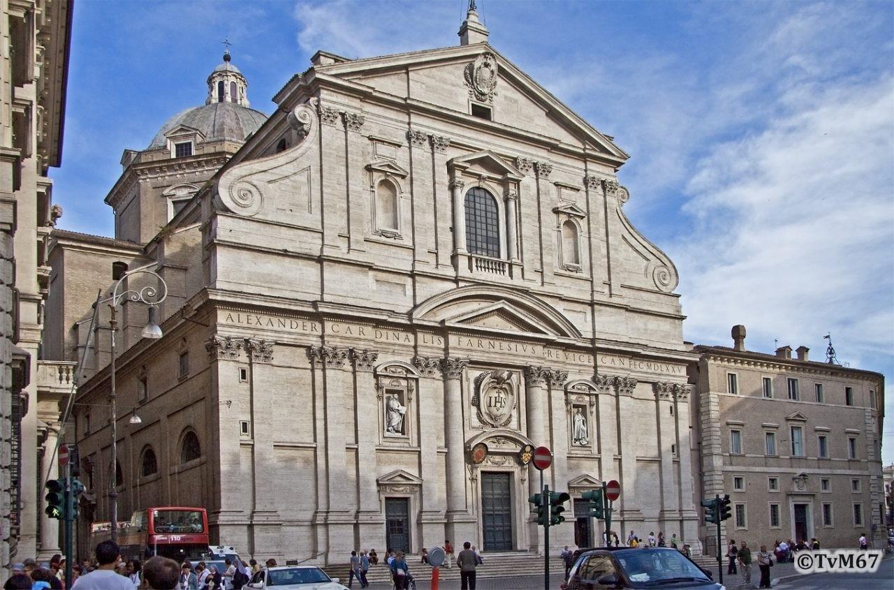 Roma, Chiesa del Gesù, Gevel 2, 2009