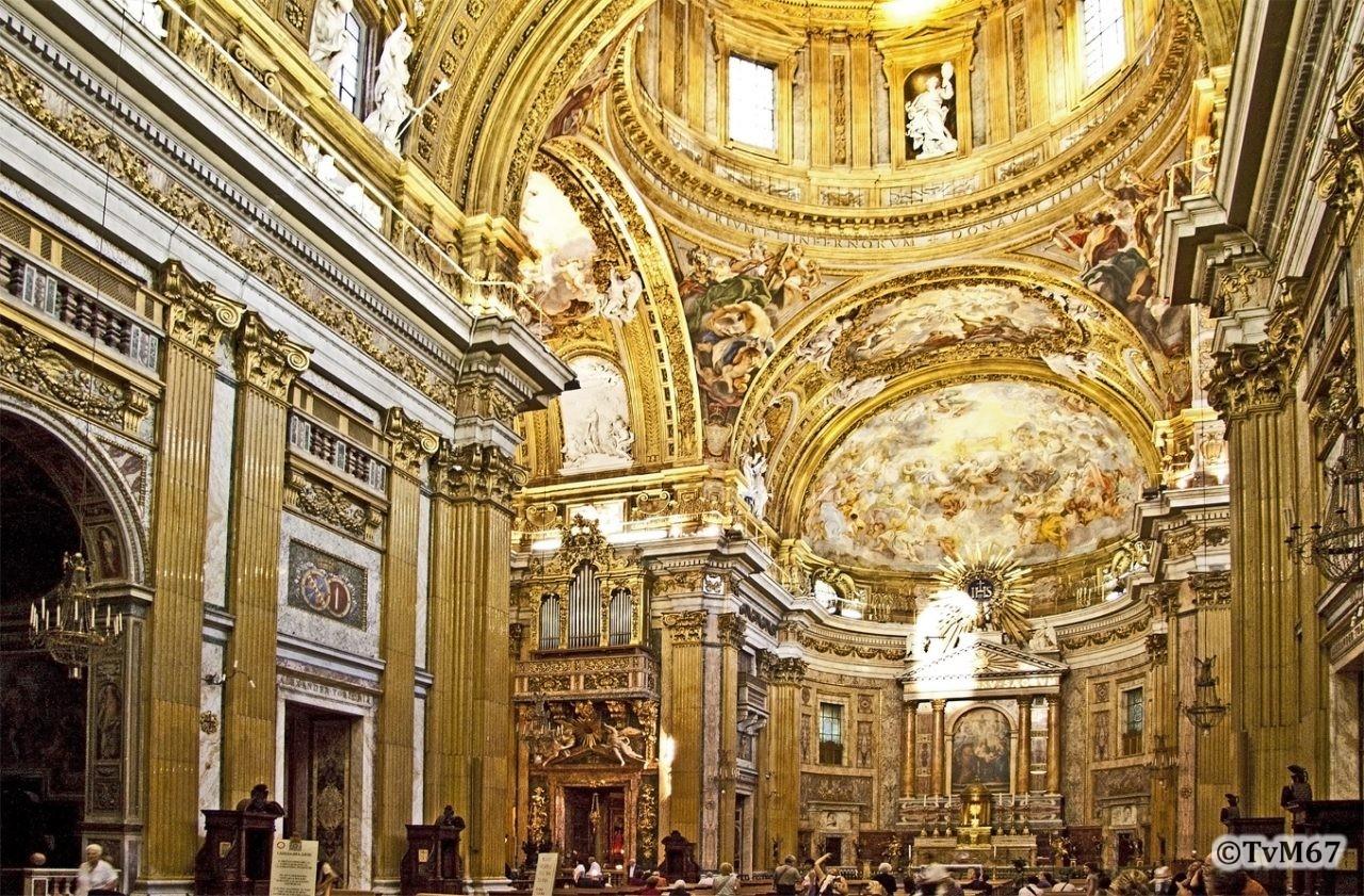 Roma, Chiesa del Gesù, Middenschip, Overzicht 1, 2009
