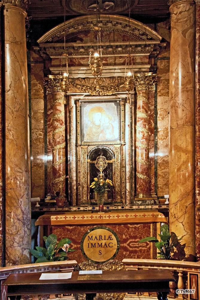 Cappella di Santa Maria della Strada, Altaar