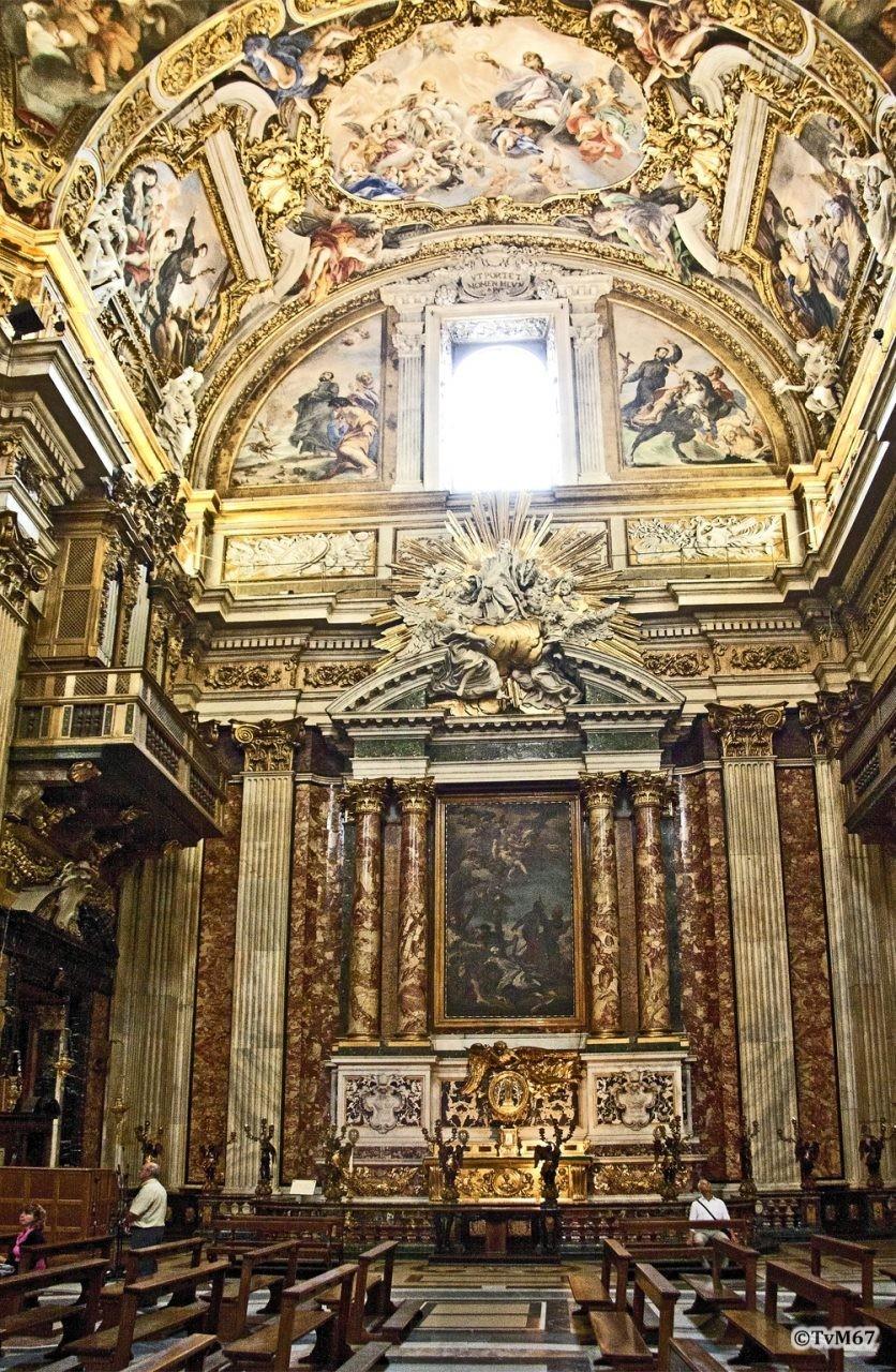 Da Cortona, Cappella di San Francesco Saverio