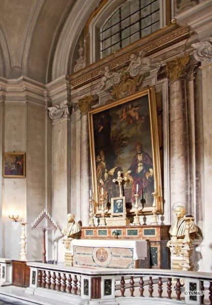 Cappella di San Gregorio, Altaar