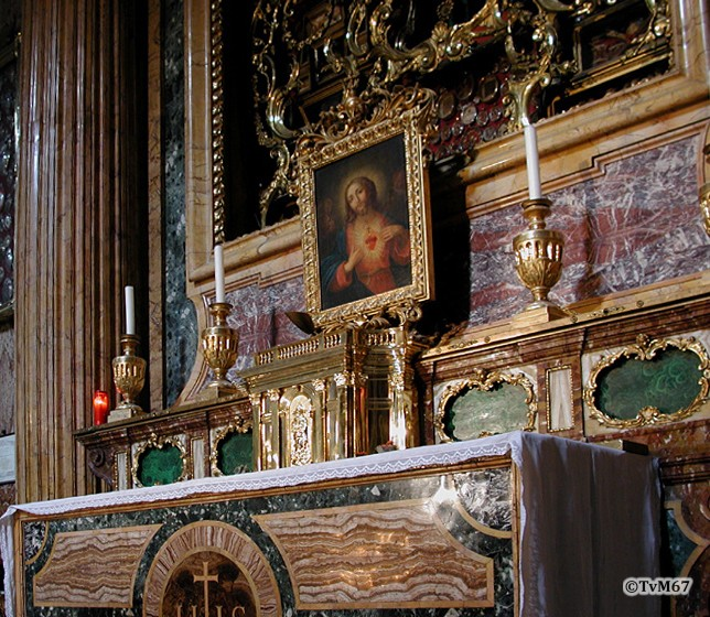 Cappella del Crocifisso, altaar, detail (internet)