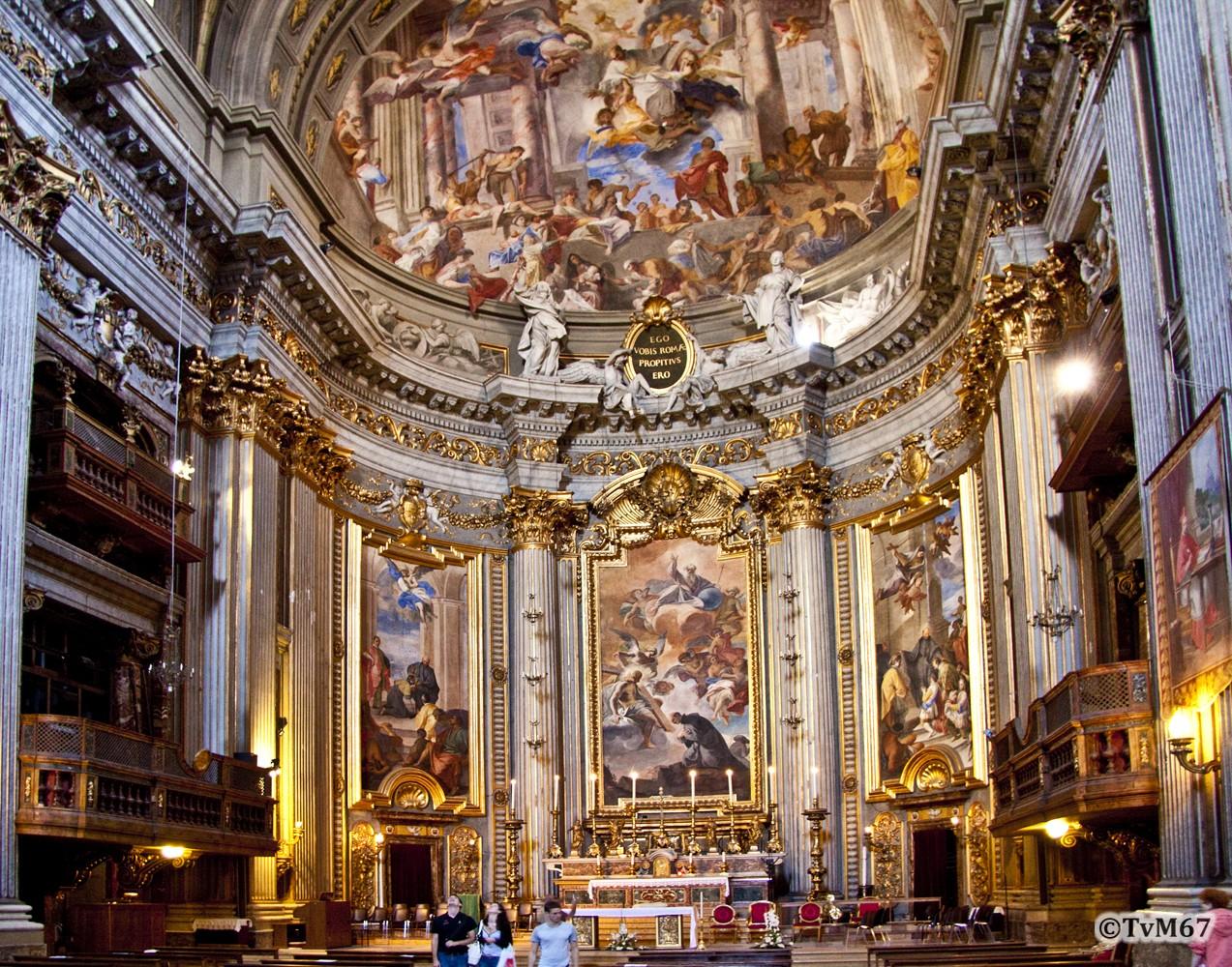 Chiesa di Sant'Ignazio, Pozzo, apsis