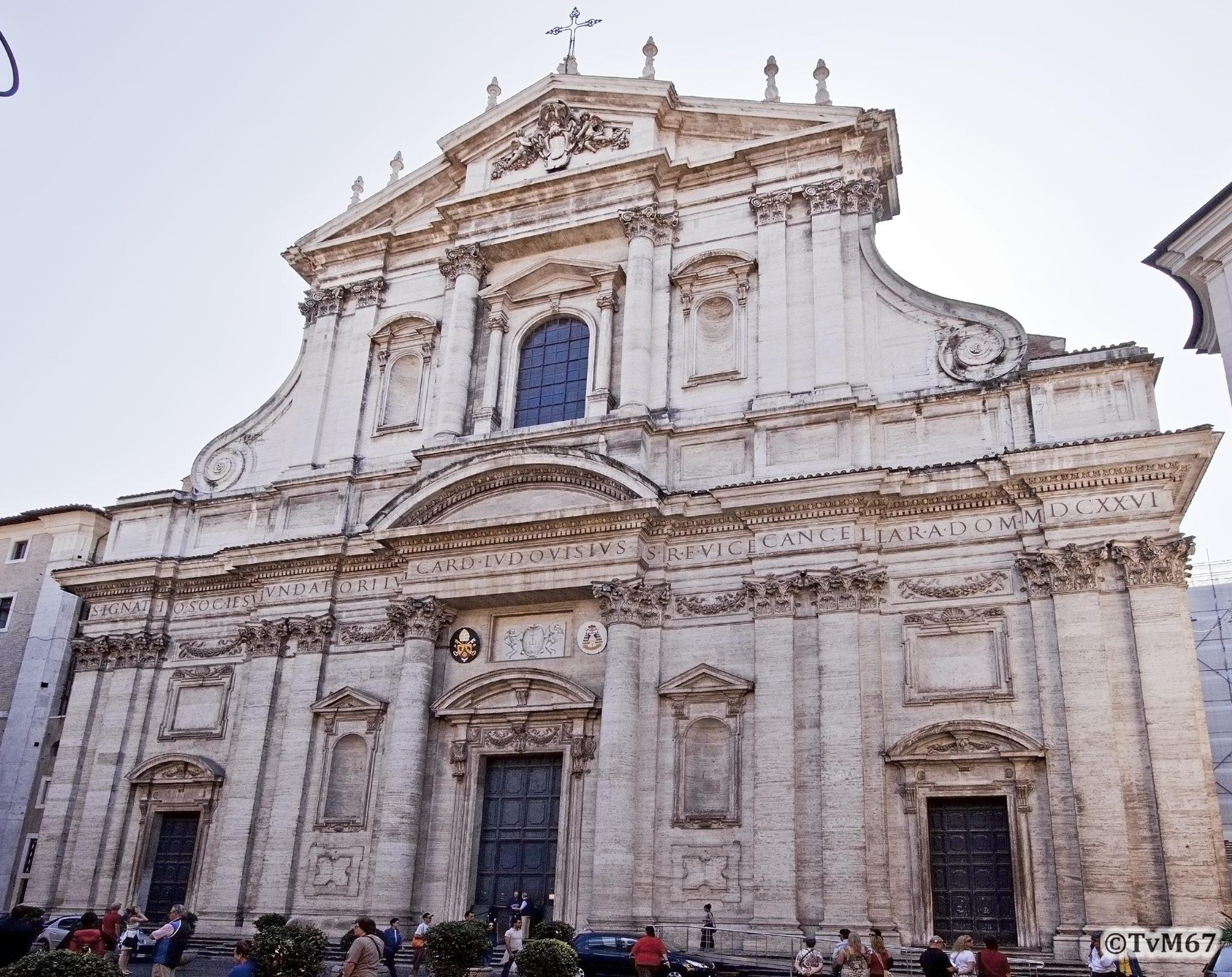 Roma, Chiesa di Sant'Ignazio, Gevel