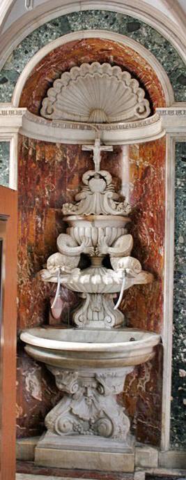 Roma, Chiesa di Sant'Ignazio, Sacristie, Sacrarium (internet)