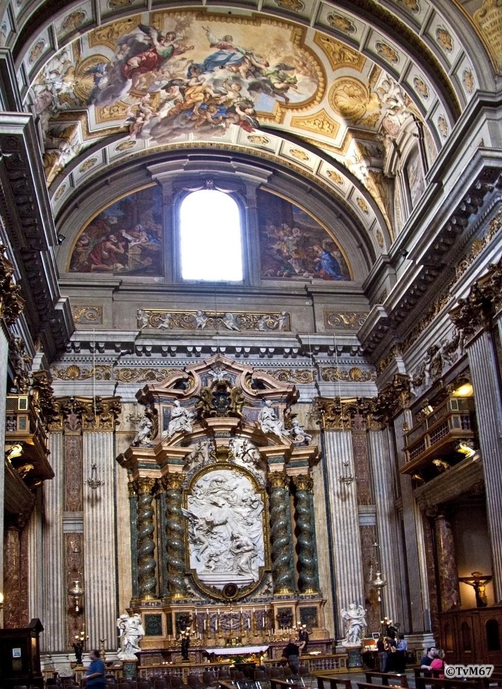 Roma, Chiesa di Sant'Ignazio, trans li, Cap dell'Annunziata, Overzicht, 2009