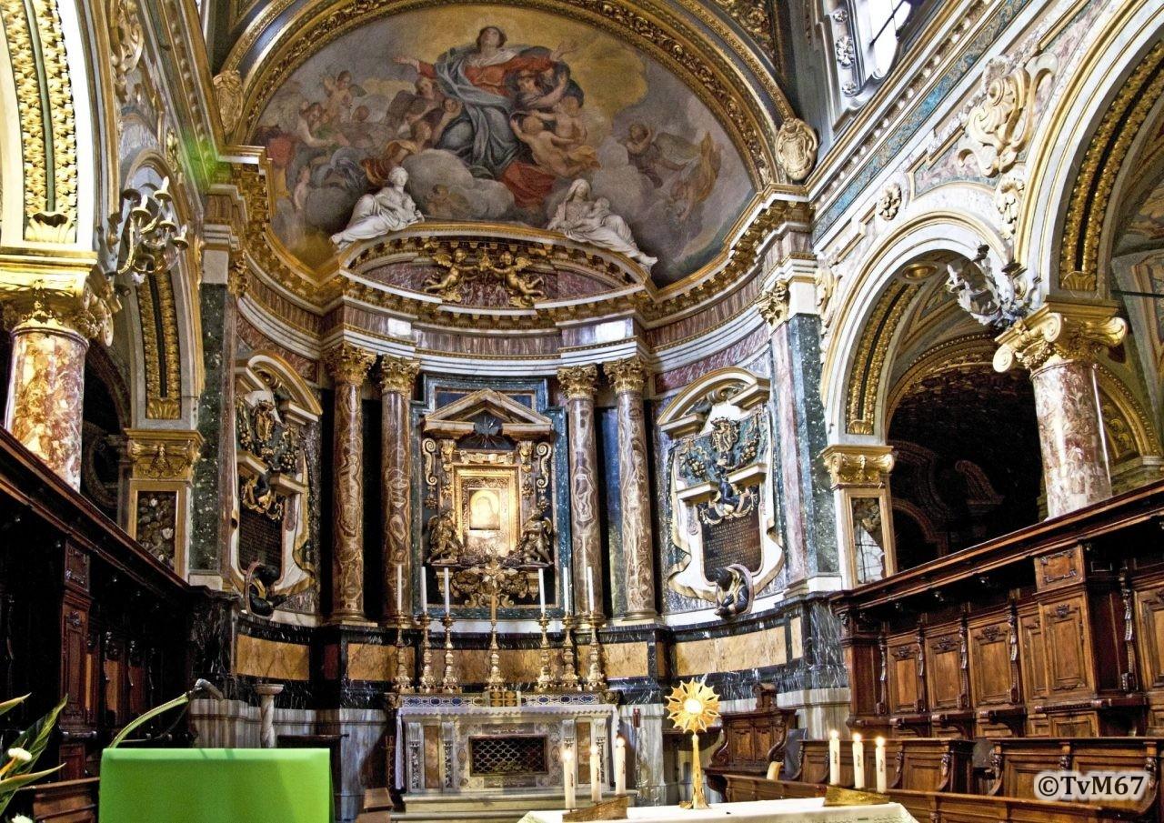 Roma, Chiesa di Santa Maria in Via Lata, Apsis, 2009