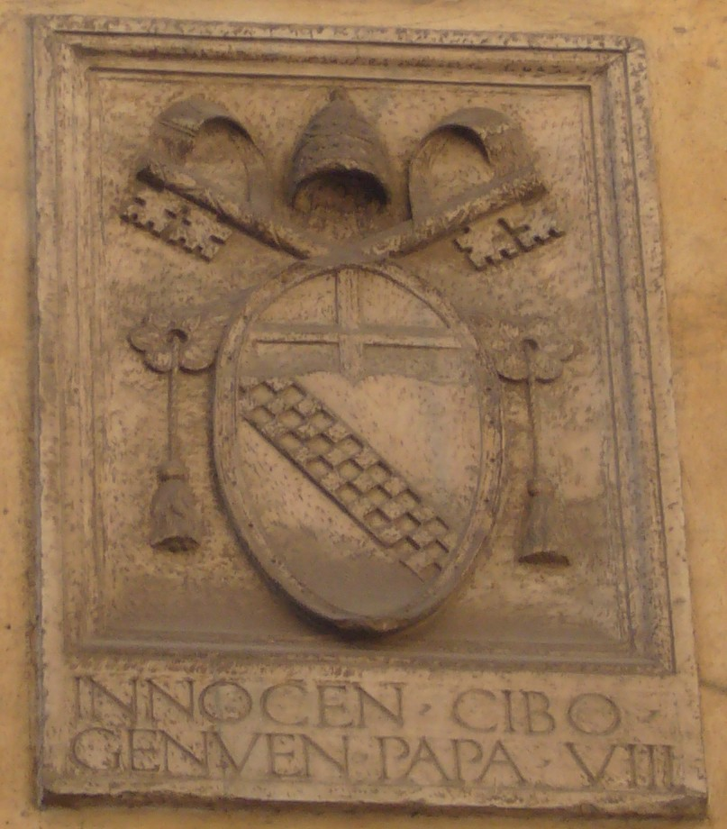 Wapen van paus Innocentius VIII *