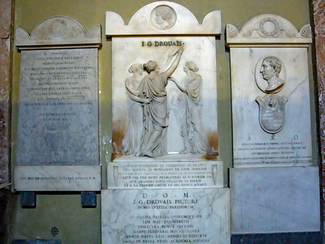 Roma, Chiesa di Santa Maria in Via Lata, Schip re, Mon Drouais (internet)