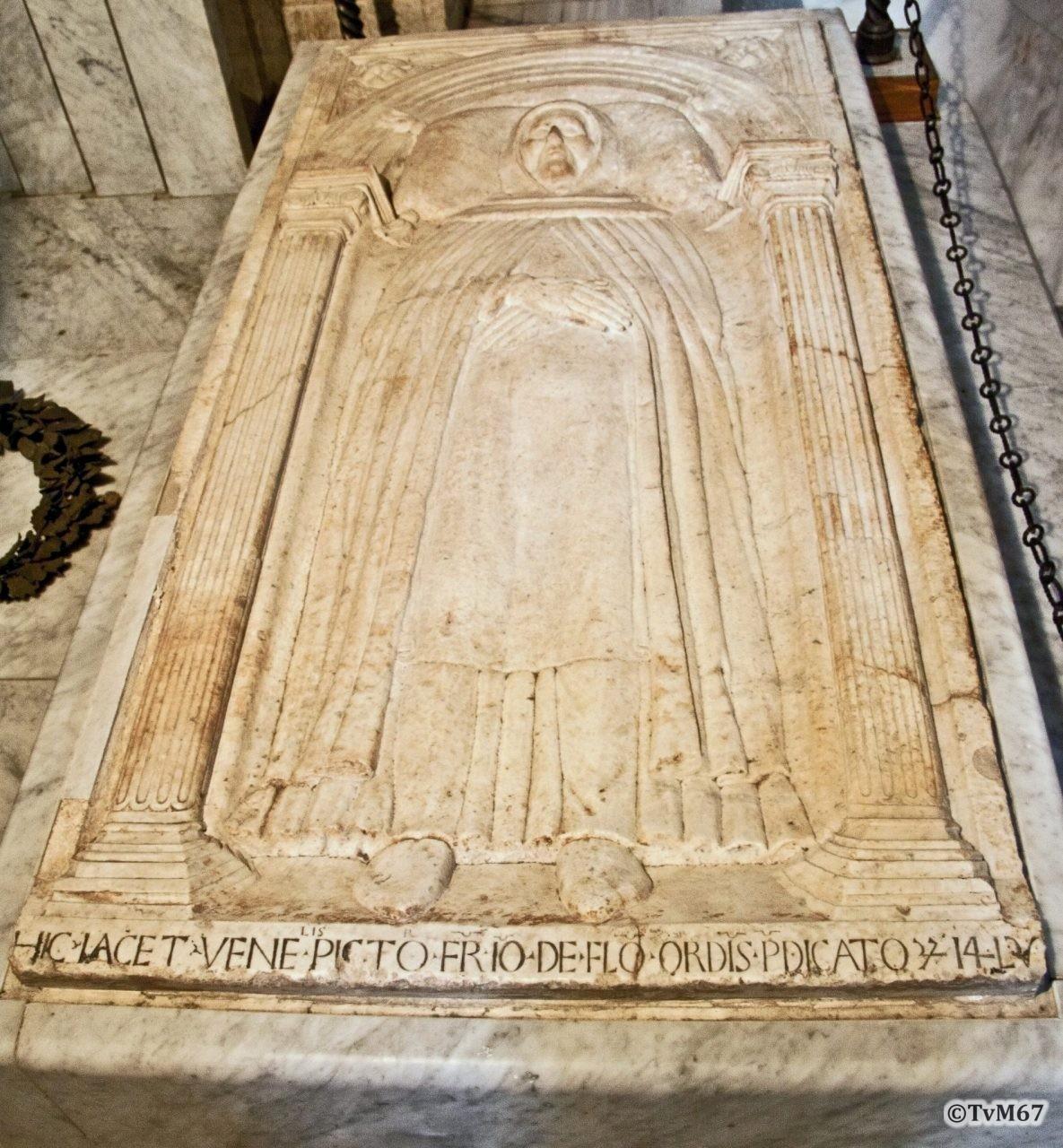 Vestibolo, Roma, Chiesa di Santa Maria sopra Minerva, Vestibolo, Graf van Fra Angelico