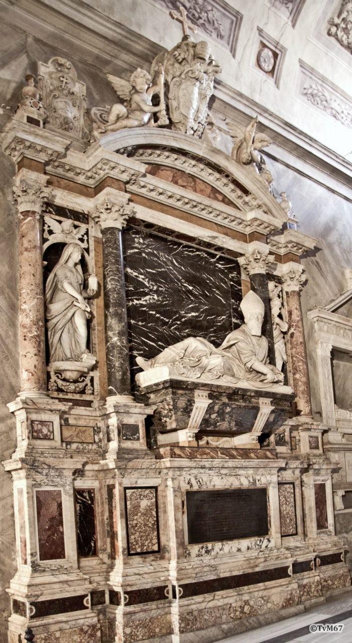 Della Porta, grafmonument van kardinaal Michele Bonelli