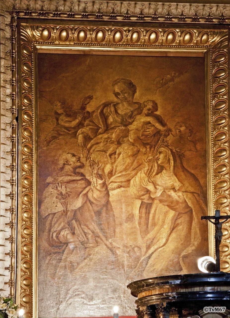 Cappella Capranica, Cerruti, Madonna del Rosario