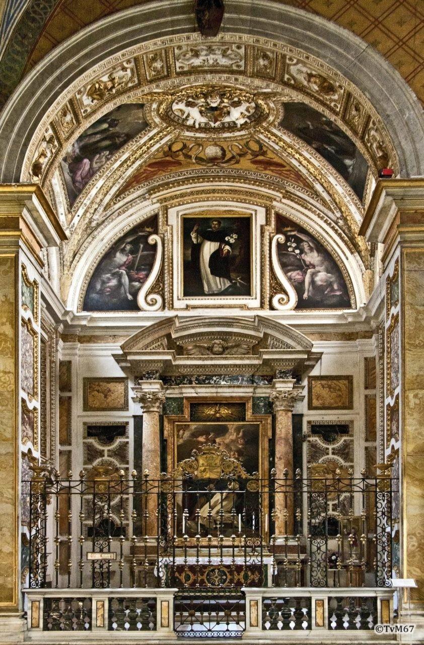 Roma, Chiesa di Santa Maria sopra Minerva, 2e k re, Cap Caffarelli, overzicht, 2011