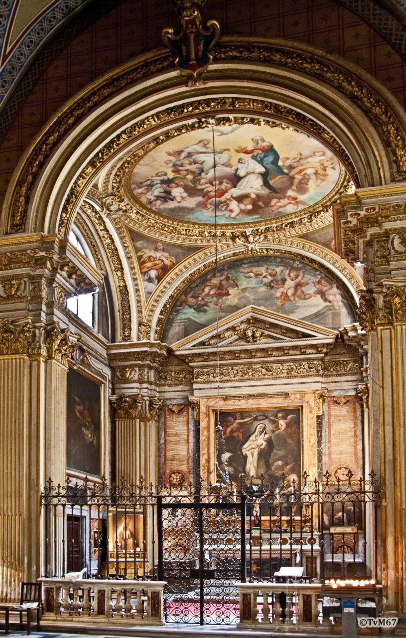 Roma, Chiesa di Santa Maria sopra Minerva, 3e k re, Cap Colonna, overzicht, 2011