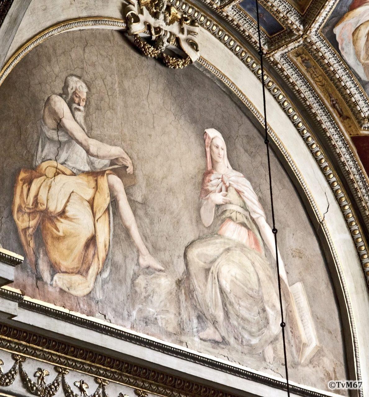 Roma, Chiesa di Santa Maria sopra Minerva, 4e k re, Cap Gabrielli, Muziano, Sibillen