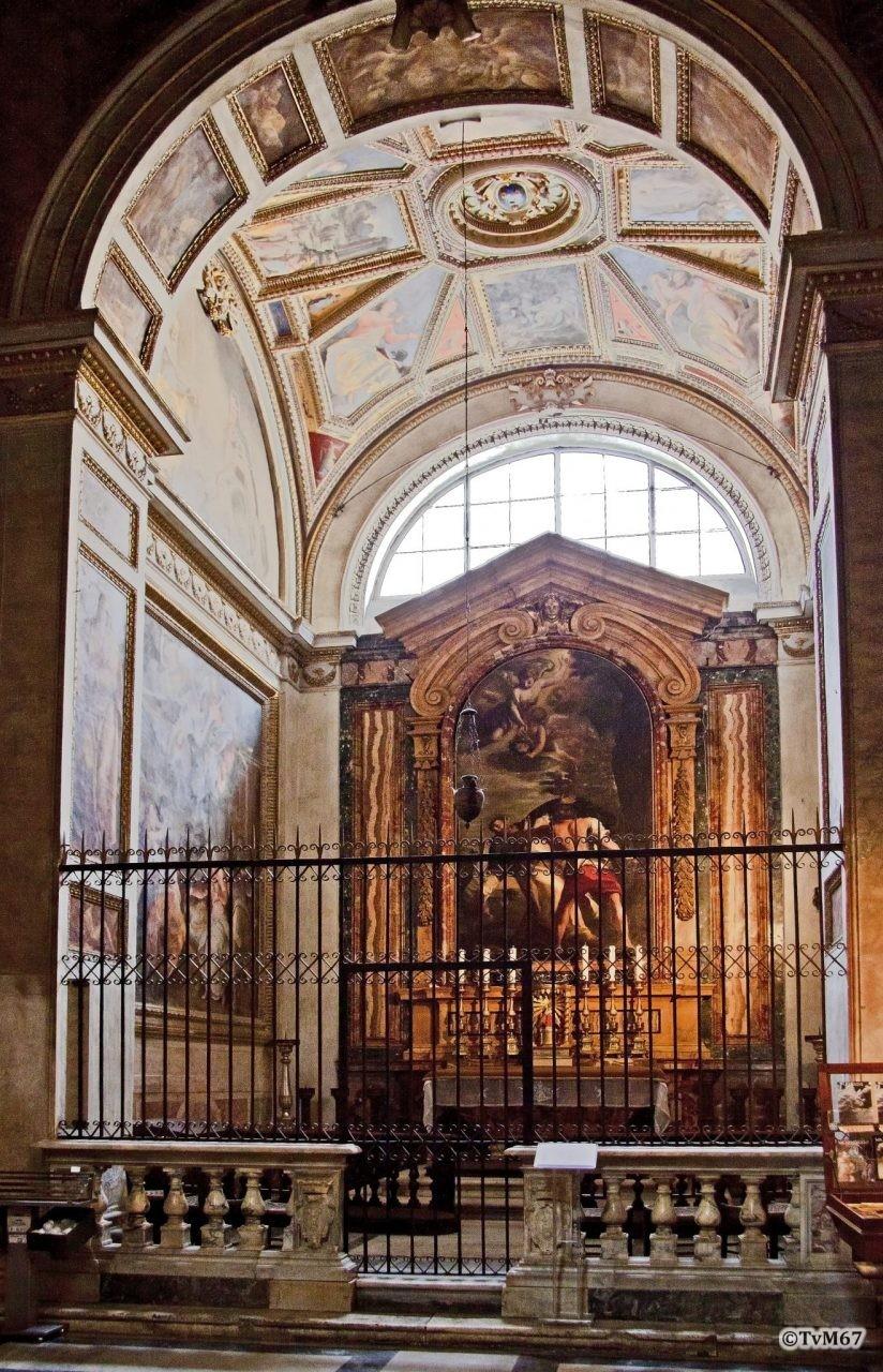Roma, Chiesa di Santa Maria sopra Minerva, 4e k re, Cap Gabrielli, overzicht