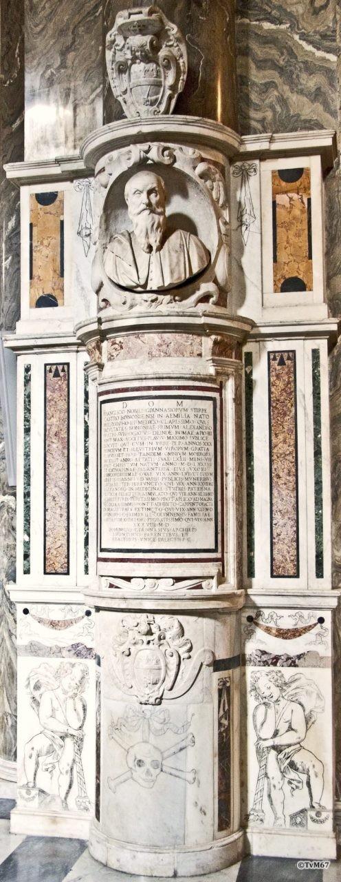 Roma, Chiesa di Santa Maria sopra Minerva, 4e pilaar re, graf Nobili,