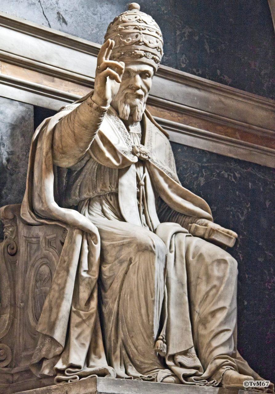 Cappella della Annunziata, Buonvicino, Monument van UrbanusVII
