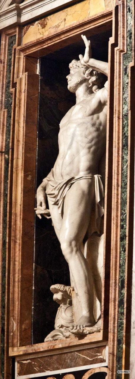 Cappella Aldobran- dini, Cordier, San Sebastiano