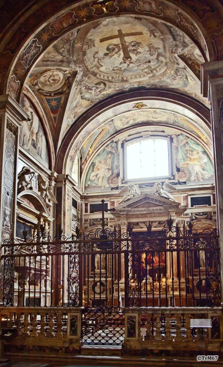 Roma, Chiesa di Santa Maria sopra Minerva, 6e k re, Cap Aldobrandini, overzicht