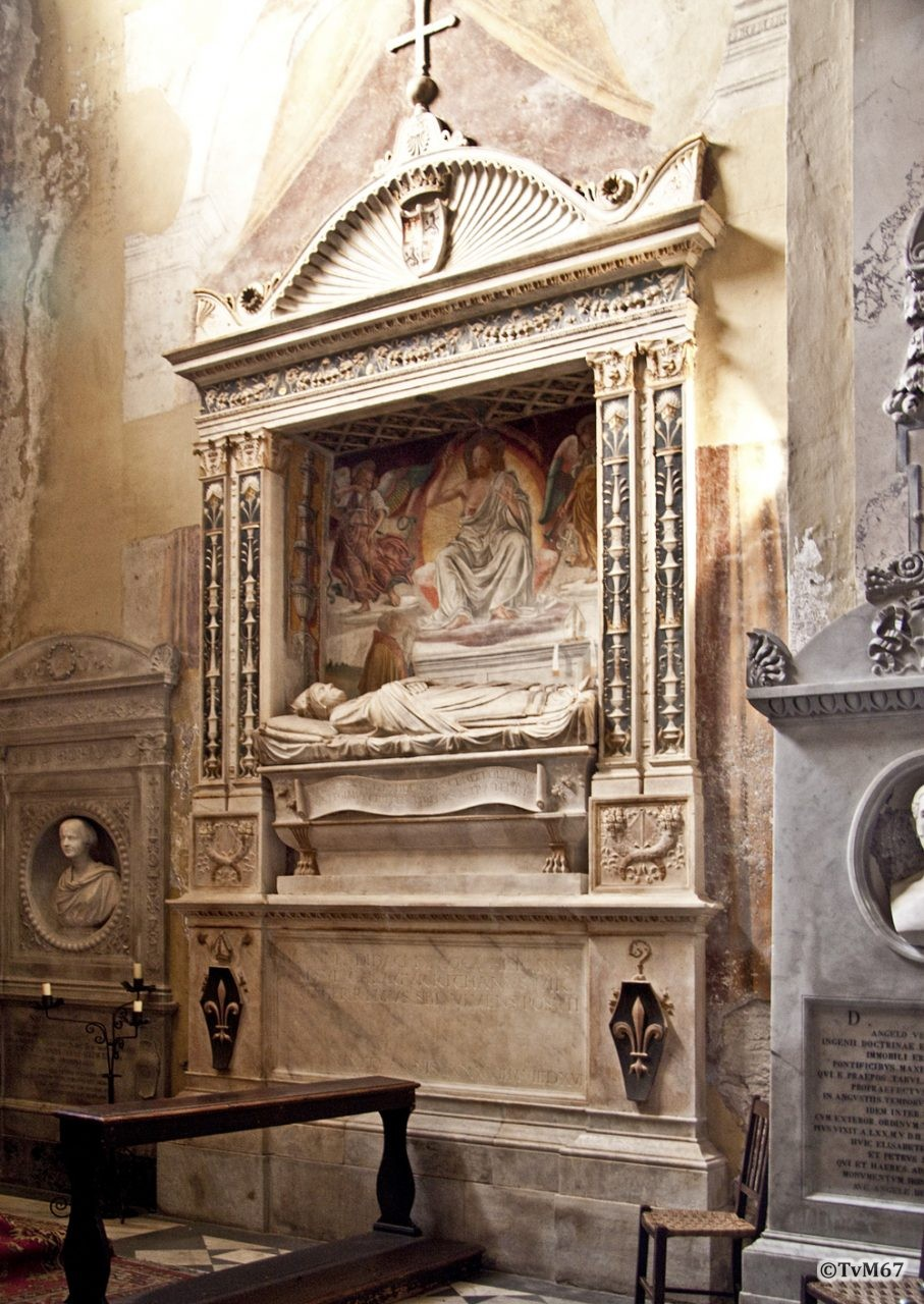 Roma, Chiesa di Santa Maria sopra Minerva, 7e k re, Cap di San Raimondo de Peñafort, Mon Juan Diego de Coca