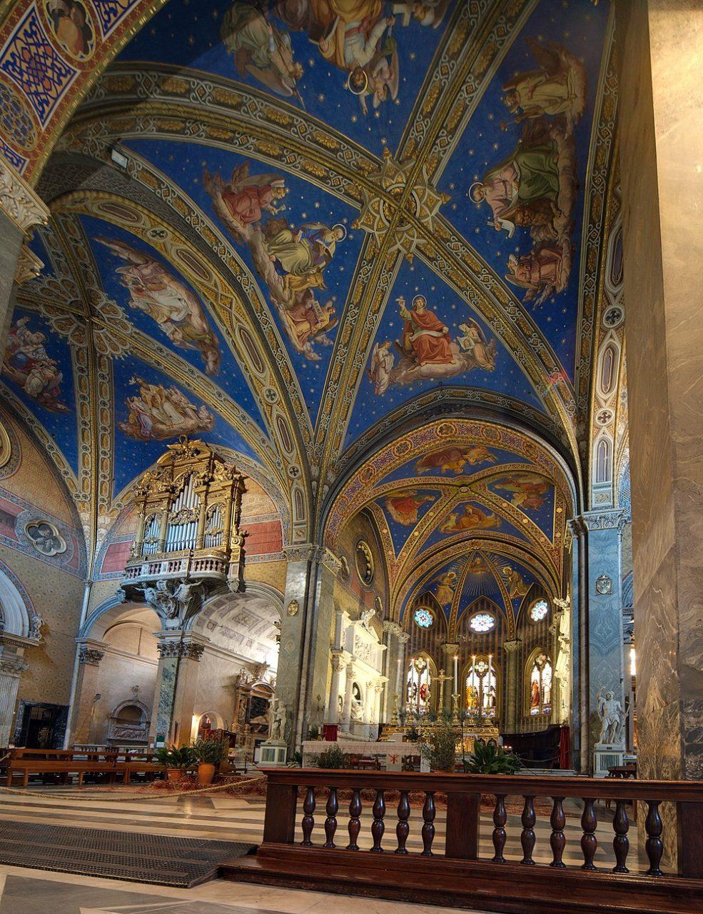 Roma, Chiesa di Santa Maria sopra Minerva, Apsis 1