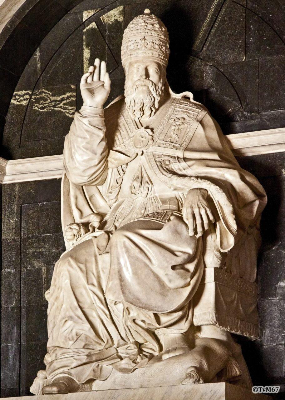 Roma, Chiesa di Santa Maria sopra Minerva, Apsis, Di Baccio Bigio, paus ClemensVII
