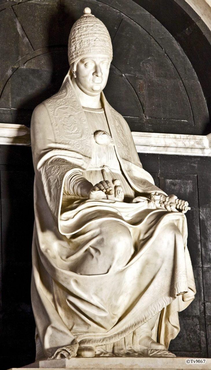 Roma, Chiesa di Santa Maria sopra Minerva, Apsis, Da Montelupo, paus LeoX