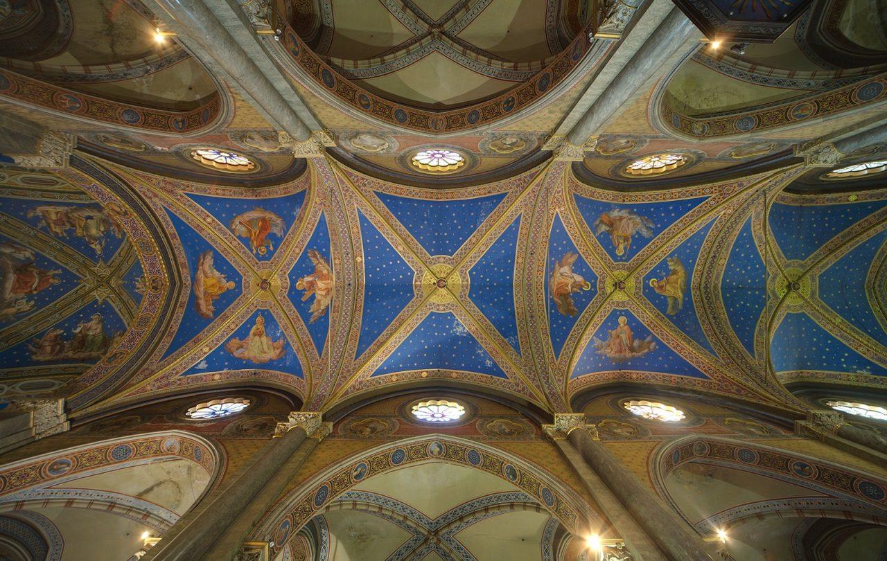 Roma, Chiesa di Santa Maria sopra Minerva, Middenschip, Plafond 1 (internet)