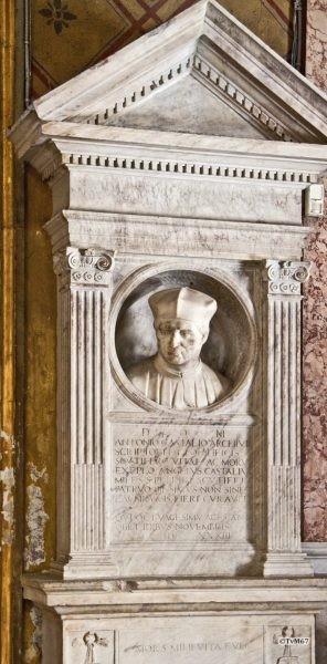 Roma, Chiesa di Santa Maria sopra Minerva, tussen 1e en 2e k re, graf Castalio, 2011
