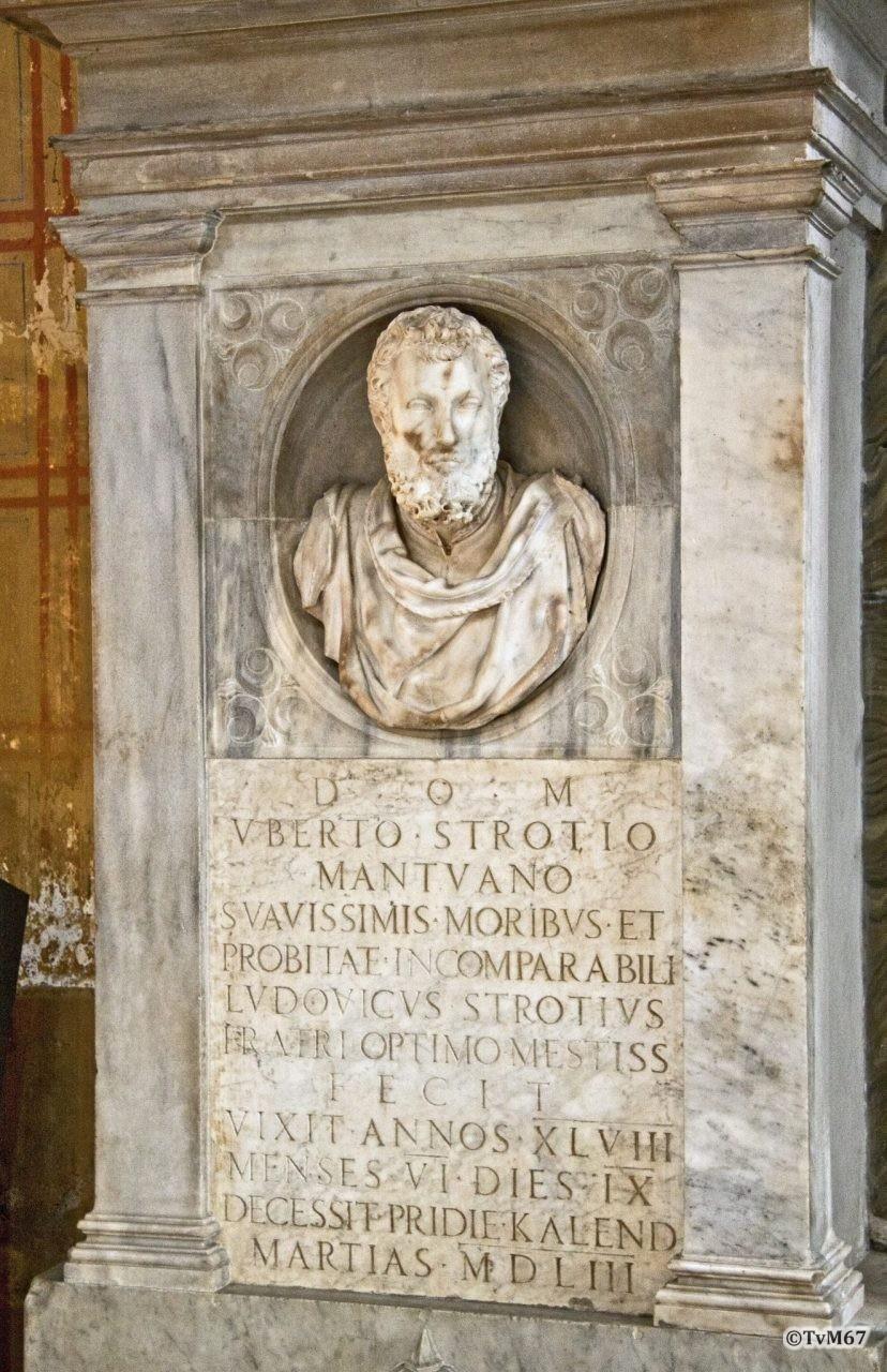Roma, Chiesa di Santa Maria sopra Minerva, tussen 2e en 3e k re, Rossi, graf Strozzi, 2011