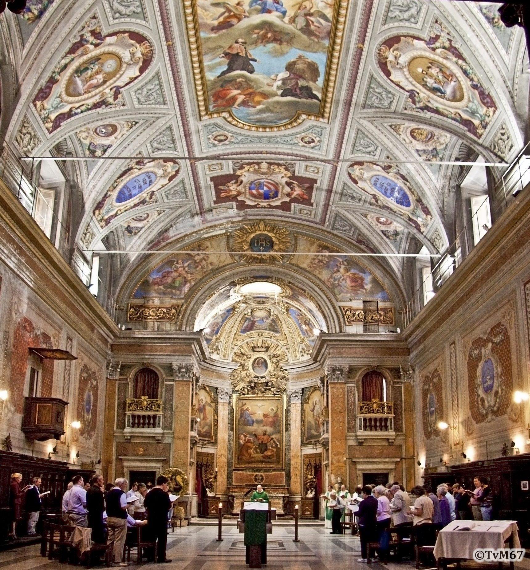 Roma, Oratorio di San Francesco Xaverio, Overzicht