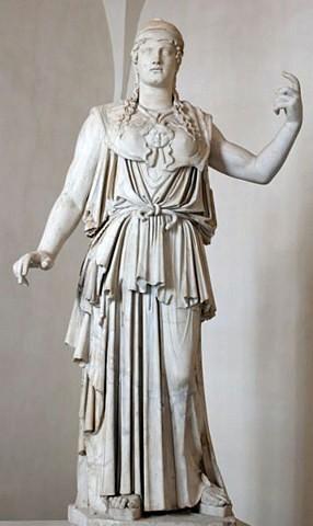 Roma, Palazzo Altieri, Anitochos, Athena Parthenos (internet)