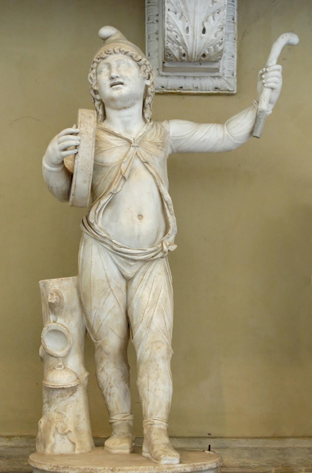 Roma, Palazzo Altieri, Attis Altieri Chiaramonti, Attis doet een dans uit de Sibillecultus (internet)
