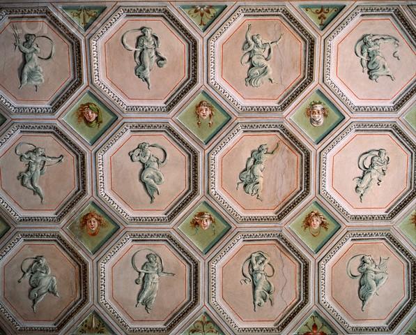 Roma, Palazzo Altieri, Cassetteplafond