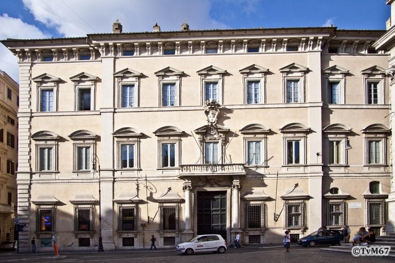 Roma, Palazzo Altieri, Gevel, 2009