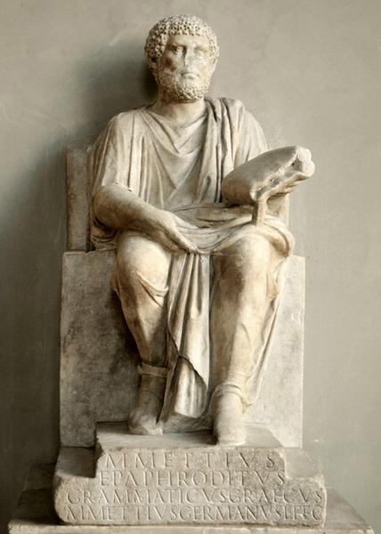 Roma, Palazzo Altieri, Marcus Mettius, Epafroditus van Chaeronea (internet)