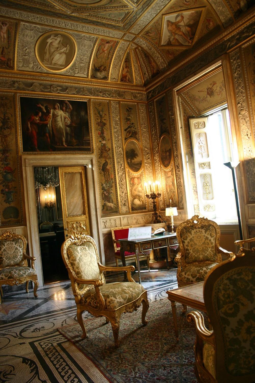 Roma, Palazzo Altieri, vertrek (internet)