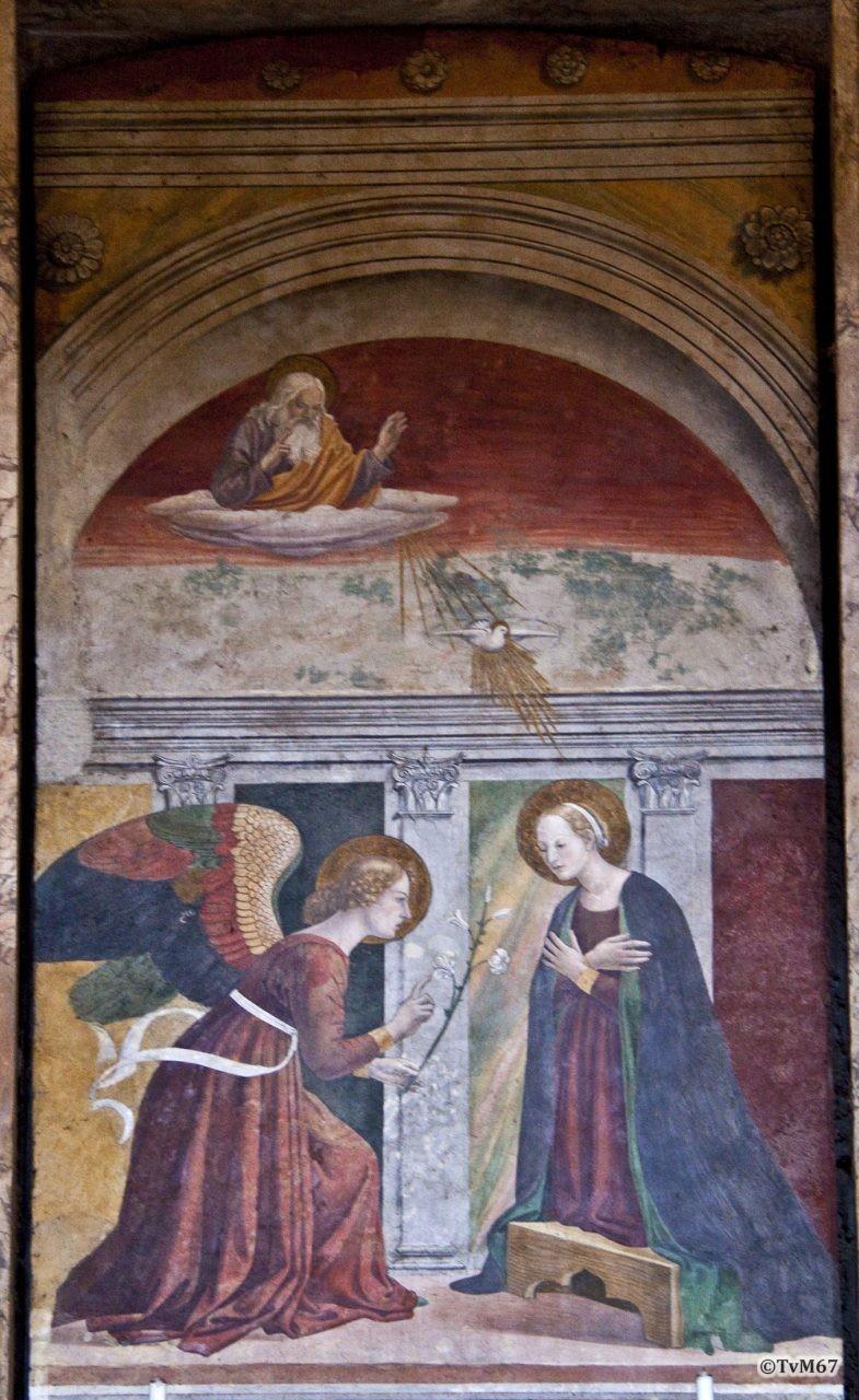 Roma, Pantheon, 1e k re, Cap dell'Annunciazione, 2009