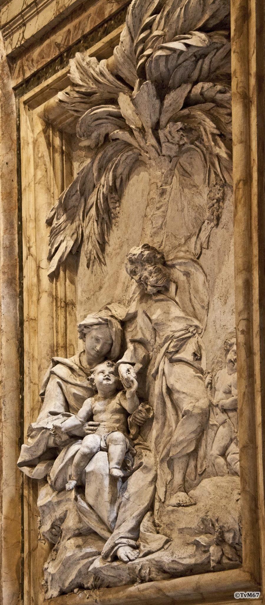 Roma, Pantheon, 7e k, Cap di San Giuseppe di Terra Santa, Monaldi, rust tijdens vlucht naar Egypte, 2011
