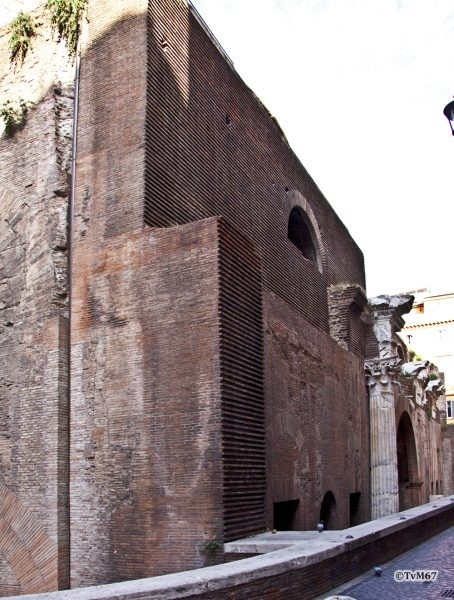 Roma, Pantheon, Achterzijde, 2009