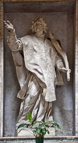 Roma, Pantheon, Aedicula tussen 3e en 4e k, Sant'Anastasio, 2011