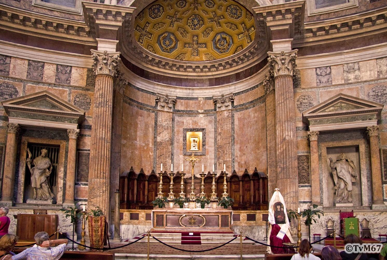 Roma, Pantheon, Altaar 1, 2009