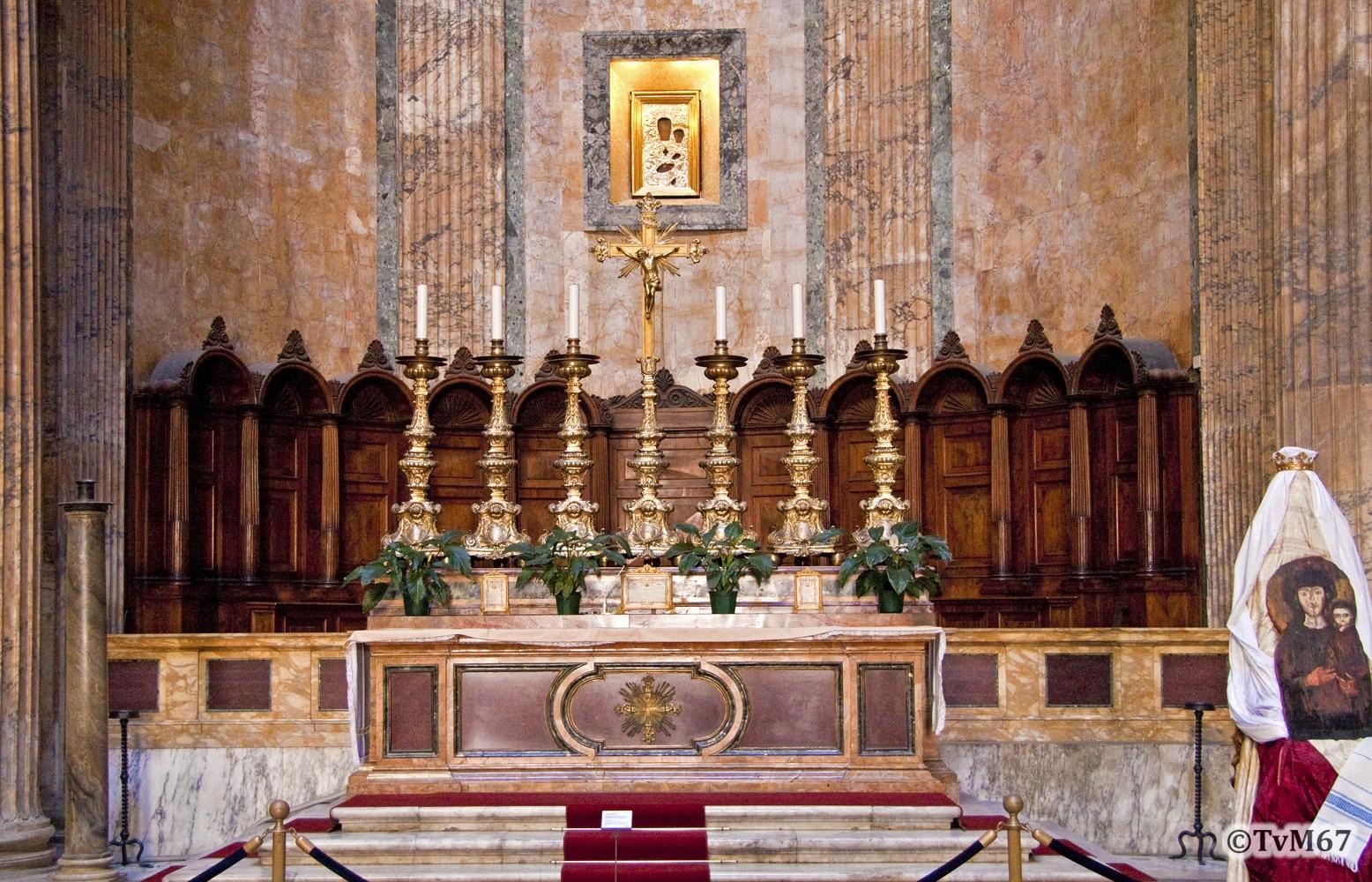 Roma, Pantheon, Altaar 2, 2009
