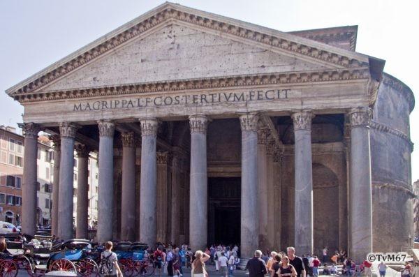 Roma, Pantheon, Gevel 2, 2009